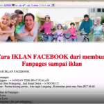 Video Pengelolaan Halaman facebook